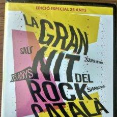 Vídeos e DVD Musicais: LA GRAN NIT DEL ROCK CATALA (PALAU SANT JORDI 1991) EDICIO ESPECIAL 25 ANYS. Lote 263233100