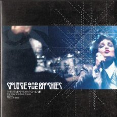 Vídeos y DVD Musicales: SIOUXSIE AND THE BANSHEES THE SEVEN YEARS ITCH LIVE. Lote 252147035