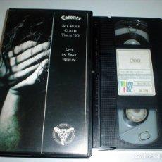 Vídeos y DVD Musicales: CORONER - NO MORE COLOR TOUR ´90 VHS. Lote 55935073