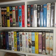 Vídeos y DVD Musicales: GRAN LOTE 40 VIDEOS VHS - ROLLING STONES / BEATLES / STING / SPRINGSTEEN / M. DAVIS / F. SINATRA ETC. Lote 252671285
