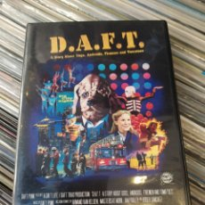 Vídeos y DVD Musicales: DAFT PUNK–D.A.F.T. : A STORY ABOUT DOGS, ANDROIDS, FIREMEN AND TOMATOES. DVD. BUEN ESTADO.. Lote 252760745