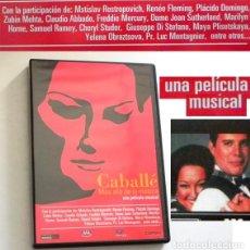 Vídeos y DVD Musicales: CABALLÉ MÁS ALLÁ DE LA MÚSICA DVD PELÍCULA DOCUMENTAL ¿ BIOGRAFÍA ? MONTSERRAT ÓPERA FREDDIE MERCURY. Lote 252935145