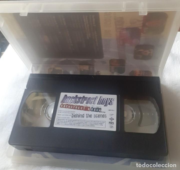 Vídeos y DVD Musicales: Video VHS de los Blackstreetboys - Foto 2 - 253043220
