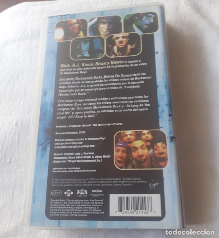 Vídeos y DVD Musicales: Video VHS de los Blackstreetboys - Foto 3 - 253043220