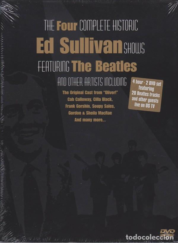 THE FOUR COMPLETE HISTORIC ED SULLIVAN SHOWS 240 MT DVD X 2 THE BEATLES (Música - Videos y DVD Musicales)