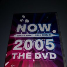 Vídeos y DVD Musicales: T1P103. DVD NOW 2005 THE DVD. Lote 254326825