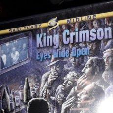 Vídeos y DVD Musicales: DVD - KING CRIMSON - EYES WIDE OPEN (2 DVD SET - LIVE IN JAPAN 2003/LIVE AT SHEPHERDS BUSH EMP. 2000. Lote 255328950