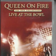 Vídeos y DVD Musicales: QUEEN LIVE AT THE BOWL. Lote 255338675