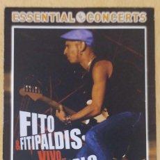 Vídeos y DVD Musicales: FITO & FITIPALDIS (VIVO.. PARA CONTARLO) DVD 2009 - CONCIERTO EN DIRECTO BILBAO 2004. Lote 255516885