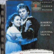 Vídeos y DVD Musicales: ROMEO ET JULIETTE ROBERTO ALAGNA (PRECINTADO). Lote 255521115