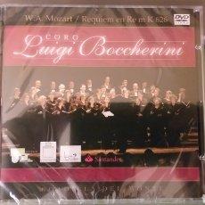 Vídeos y DVD Musicales: BOADILLA DEL MONTE DVD CORO LUIGI BOCCHERINI REQUIEM MOZART NUEVO 2005 + 5€ ENVIO CN. Lote 257303485