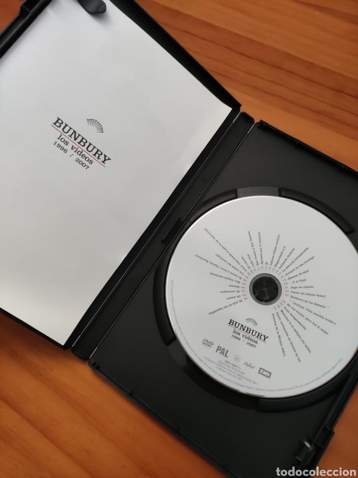 Vídeos y DVD Musicales: Dvd Bunbury. Los Vídeos 1996 / 2007. - Foto 3 - 257316030