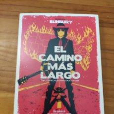 Vídeos y DVD Musicales: DVD BUNBURY. EL CAMINO MÁS LARGO. ALEXIS MORANTE. Lote 257316205