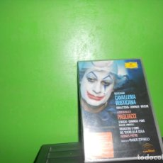 Vídeos y DVD Musicales: CAVALLERIA RUSTICANA, MASCAGNI - OBRAZTSOVA, DOMINGO, BRUSON - DEUTSCHE GRAMMOPHON. TENGO + DVDS.. Lote 257572045