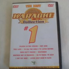 Video e DVD Musicali: THE BEST # 1. KARAOKE COLLECTION DVD. Lote 257755670