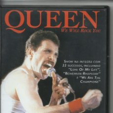 Video e DVD Musicali: QUEEN WE WILL ROCK YOU. Lote 257949455