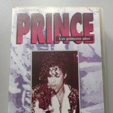 Vídeos y DVD Musicales: PRINCE - LOS PRIMEROS AÑOS - VHS. Lote 258318750