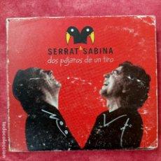 Vídeos y DVD Musicales: SERRAT Y SABINA DOS PAJAROS DE UN TIRO 2 CD+DVD. Lote 258935575