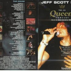 Video e DVD Musicali: JEFF SCOTT SOTO LIVE. Lote 259234160