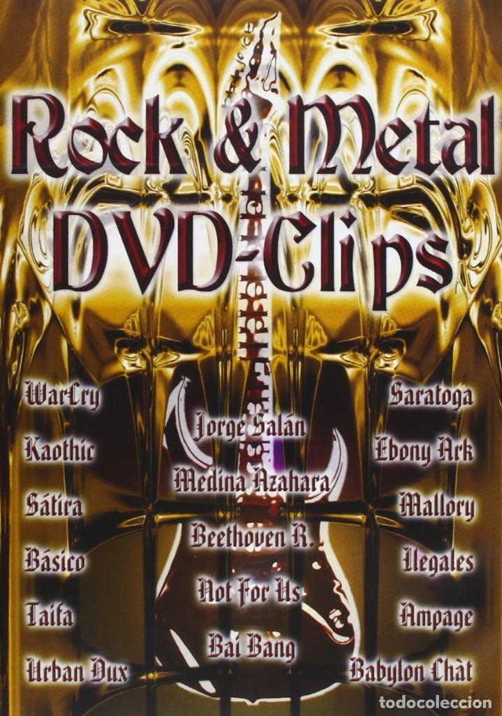 ROCK Y METAL DVD CLIPS COMO NUEVO (Música - Videos y DVD Musicales)