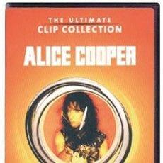 Vídeos y DVD Musicales: ALICE COOPER THE ULTIMATE CLIP COLLECTION - DVD COMO NUEVO. Lote 259916555