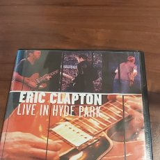 Vídeos y DVD Musicales: DVD ERIC CLAPTON - LIVE IN HYDE PARK (LONDRES, 29 JUNIO 1996). Lote 260302100