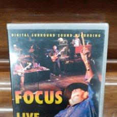 Video e DVD Musicali: FOCUS - LIVE IN AMERICA DVD PRECINTADO!!!. Lote 261121125