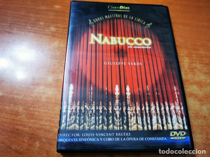NABUCCO EN CONCIERTO GIUSEPPE VERDI DVD 2003 ESPAÑA OBRAS MAESTRAS DE LA LIRICA LOUIS-VINCENT BRUERE (Música - Videos y DVD Musicales)