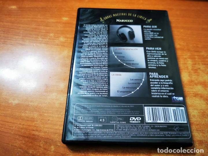 Vídeos y DVD Musicales: NABUCCO En concierto GIUSEPPE VERDI DVD 2003 ESPAÑA OBRAS MAESTRAS DE LA LIRICA LOUIS-VINCENT BRUERE - Foto 3 - 261259670