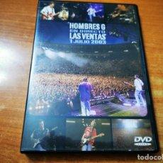Vídeos y DVD Musicales: HOMBRES G EN DIRECTO LAS VENTAS 1 JULIO 2003 DVD 2004 DAVID SUMMERS 23 TEMAS + EXTRAS. Lote 261260175