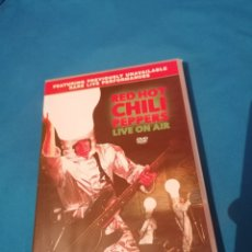 Vídeos y DVD Musicales: RED HOT CHILI PEPPERS LIVE ON AIR DVD NUEVO. Lote 261806665