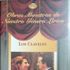 Vídeos y DVD Musicales: LOS CLAVELES - ZARZUELA - VHS. Lote 261873285