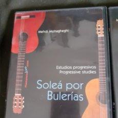 Vídeos y DVD Musicales: ESTUDIOS PROGRESIVOS PARA GUITARRA FLAMENCA. PACK 5 (LIBRO/DVD) - MEHDI MOHAGHEGHI. Lote 262023850