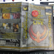 Vídeos e DVD Musicais: MAGNUM VHS ON THE WINGS OF HEAVEN LIVE. Lote 262284705
