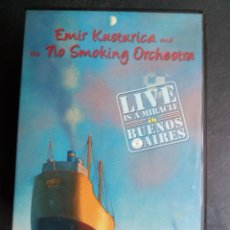 Video e DVD Musicali: EMIR KUSTURICA AND THE NO SMOKING ORCHESTRA - LIVE IS A MIRACLE IN BUENOS AIRES. Lote 262548435
