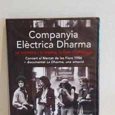 Vídeos y DVD Musicales: COMPANYIA ELÈCTRICA DHARMA / CONCERT AL MERCAT DE LES FLORS 1986 + DOCUMENTAL LA DHARMA / PRECINTADO. Lote 262732200