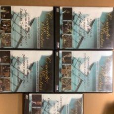 Vídeos y DVD Musicales: CONCIERTOS MAESTROS. LOTE 5 DVD INTERACTIVOS Y DIDÅCTICOS. RTVE. Lote 262804060