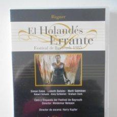 Vídeos y DVD Musicales: EL HOLANDES ERANTE. DVD DE LA OPERA DE RICHARD WAGNER. DEUTSCHE GRAMMOPHON.. Lote 262843955