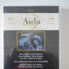 Vídeos e DVD Musicais: AIDA. DVD DE LA OPERA DE VERDI. LUCIANO PAVAROTTI.. Lote 262845920
