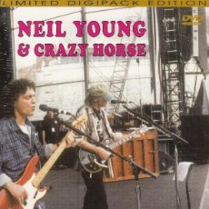"""Vídeos y DVD Musicales: NEIL YOUNG """" LIVE IN JAPAN 2001 """" DVD. Lote 262921975"""