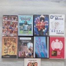 Vídeos y DVD Musicales: LOTE DE DVD´S MUSICALES. Lote 263651950