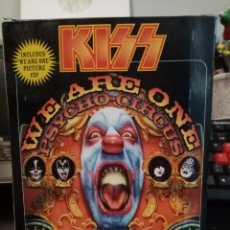 Vídeos y DVD Musicales: KISS 3-D VIDEO. PSYCHO CIRCUS. WE ARE ONE. VHS + PICCTURE CD + GAFAS 3D. COMPLETO. LIMITED ED HEAVY.. Lote 266578983