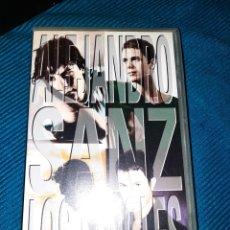 Vídeos y DVD Musicales: VHS, ALEJANDRO SANZ - LOS SINGLES- 12 VIDEOCLIPS. Lote 267417224