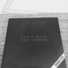 "Vídeos y DVD Musicales: AC/DC "" BACK IN BLACK "" THE VIDEOS. Lote 267690244"