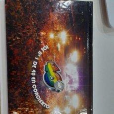 Vídeos y DVD Musicales: EDICION LIMITADA DOS DVD LOS NUMEROS 1 DE 40 EN CONCIERTO. Lote 268418184