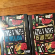 Vídeos y DVD Musicales: 2 DVDS GUNS AND ROSES. USE YOUR ILLUSION 1 Y 2. Lote 269494683