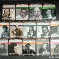 Video e DVD Musicali: SEMINUEVO COLECCIÓN LIBROS-DVD / RITO Y GEOGRAFIA DEL CANTE FLAMENCO / N° 2 AL 6, 9,10,11, 13 AL 18. Lote 270525593