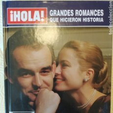 Vídeos y DVD Musicales: GRANDES ROMANCES QUE HICIERON HISTORIA HOLA GRACE Y RANIERO DE MÓNACO. Lote 271407483