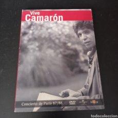 Vídeos y DVD Musicales: VIVE CAMARON , CONCIERTO DE PARIS 87/89 DVD. Lote 273746173
