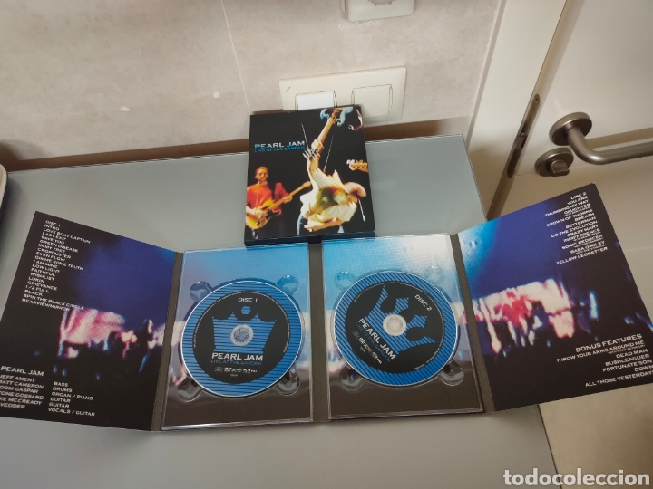 Vídeos y DVD Musicales: DVD DOBLE PEARL JAM LIVE AT THE GARDEN 2003 - Foto 5 - 275272008